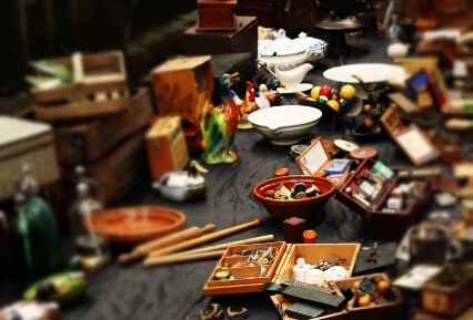 """The """"Downsizing Leftovers"""" from a Lifetime of Possessions"""