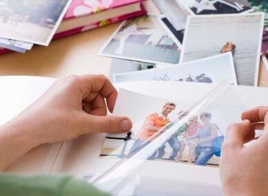 how to make photo album book old photos