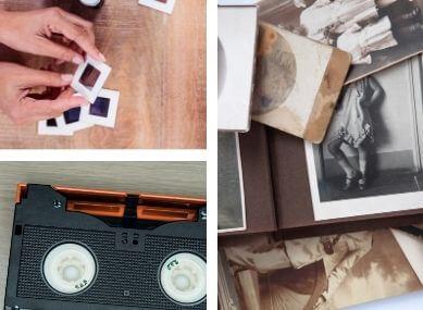 organize photos and videos