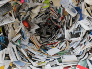 deal with paper clutter