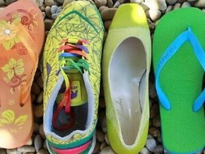 Downsize Summer Shoes
