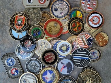 value of military challenge coins