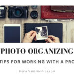 photo organizing for downsizers